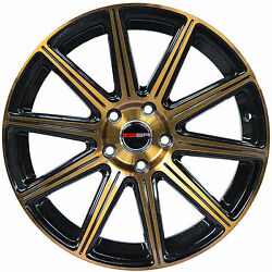 4 GWG Wheels 20 inch Bronze MOD Rims fits CHEVY IMPALA 2000 - 2013