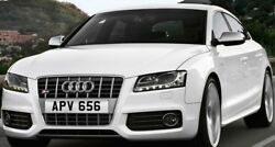 Apv 656 Victor Vickers Dateless Personalised Registration Cherished Number Plate
