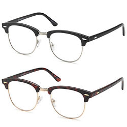 GAMMA RAY Men's Readers Vintage Quality Reading Glasses with Magnification