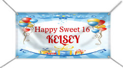 Happy Birthday. Banner As Seen On Tv Show -the Office- With Name And Age
