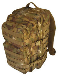 Arid Woodland Camo Molle Rucksack Assault Large 36l Backpack Tactical Army Pack