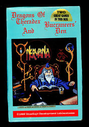 Nervana Quest 3 And 4 Dragons Of Theradex And Buccaneer's Den Starsoft Atari St New