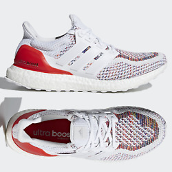 Adidas Ultra Boost 2.0 Multicolor Mens And Junior Running Shoes White Red Bb3911