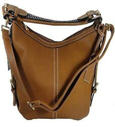 Roma Leathers 8007 Locking Gun Concealment Purse Right or Left Hand Draw RGB-BRO