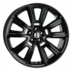 21 Ssr Alloy Wheels Fits Bentley Continental Gt Flying Spur Gloss Black
