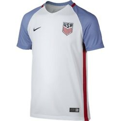 2016 Nike Dri-fit Usa Youth Home Soccer Jersey [724706-100]