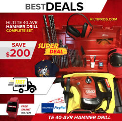 Hilti Te 40 Avr, Preowned, Free Bits, Smart Watch, Extras, Fast Shipping
