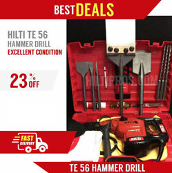 Hilti Te 56 Hammer Drill Preowned Made In Germany Free Bits Fast Ship