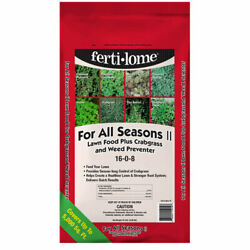 All Seasons Lawn Food + Crabgrass And Weed Preventer 16-0-8 With Prodiamine 20lb