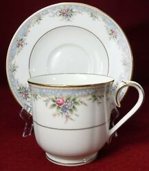 Noritake China Southhaven 4757 Pattern Cup And Saucer Set Cup 3