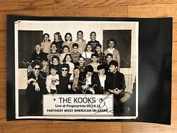 The Kooks Autographed Signed Poster 11 X 17