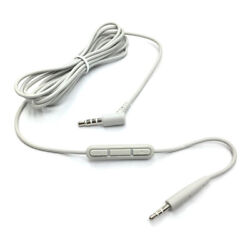 Bose Oe2i Inline Remote And Microphone Cable - White