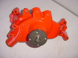 1969 - 1970 Camaro / Chevelle Chevy Bb Water Pump 3931065 Dated I38