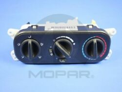 AC and Heater Control Switch MOPAR 55111841AE fits 07-10 Jeep Wrangler 3.8L-V6