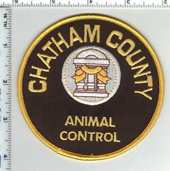 Chatham County Georgia Animal Control Shoulder Patch from 1980#x27;s