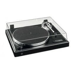Dual CS 600 Manual Turntable (Textured Lacquer Black) + Dust Protector Cap