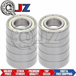 [10-pack] 6305-zz Radial/deep Groove Ball Bearing Double Seal 25mm X 62mm X 17mm