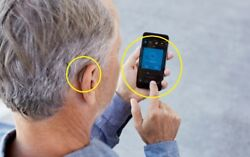 New Pair Lt And Rt Of Beltone Trust 17 Rie Hearing Aids For Iphone Remote Care