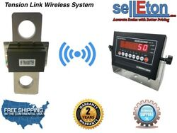 200000 Lbs X 50 Lb Tension Link Wireless Hanging Crane Scale Overhead Load Cell