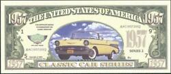 Classic Car Series 🚗 Fantasy Note 💵🚗1957 Chevy 💶 Multibuy Savings 💲
