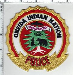 Oneida Indian Nation Police Tribal 2nd Issue Shoulder Patch