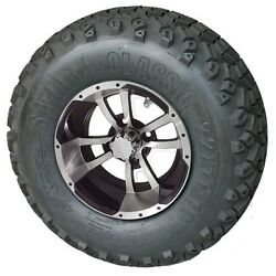 E Z Go Golf Cart Part 10 Wheel/tire Assembly For Lifted Cart Txt, Rxv, Pds,dcs