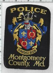 Montgomery County Police Maryland 3rd Issue Shoulder Patch