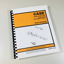 Case 1030 Comfort King Draft-o-matic Tractor Parts Manual Catalog Assembly