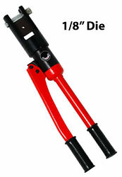 Cable Railing Crimper Tool - Swager With Die For 1/8 Fittings