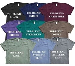 20 Blank American Apparel Tr401 Tri Blend T-shirt Lot Ok To Mix Xs-xl And Colors