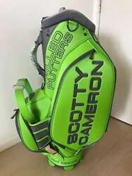 Scotty cameron Circle T STUDIO DESIGN CIRCLE T STAFF BAG LIME GREEN from tokyo