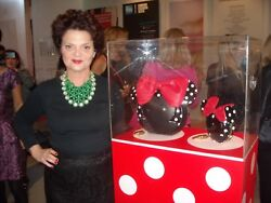 Lulu Guinness COLLABORATION WITH MINNIE MOUSE Charity Limited Edition Clutches