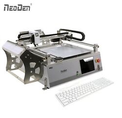 NeoDen3V Desktop Pick and Place Machine with Dual Camera 42 Feeders 0402 IC LED