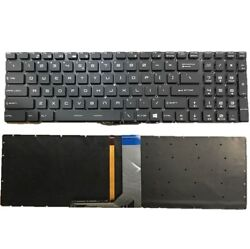 New MSI GT72 GS60 WS60 GE72 GE62 6QC Laptop Keyboard Full Colorful Backlit US