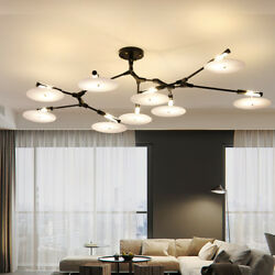 CD Flying Record Chandelier Lindsey 3 5 9 11 Light Ceiling Fixture Lamp NEW Gift