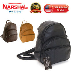 New Leather Backpack Purse Sling Bag Back Pack Shoulder Handbag Organizer Pocket $24.99