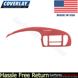 Coverlay - Instrument Panel Cover Red 12-974IC-RD For 94-02 Ford F-150