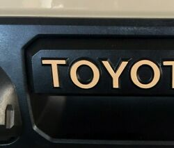 Premium Cast Vinyl Decals for 2016 2021 Tacoma and 2014 2021 Tundra Handle