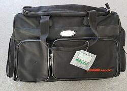 HAND BAG SUITCASE SIDE BLACK IN CORDURA NYLON FACO WITH PLATE MOTORCYCLE