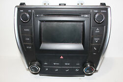 2012-2016 Toyota Camry Cd Player Receiver Climate Control