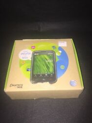 Pantech Renue P6030 Black AT&T Smartphone  Pre-Owned - Working