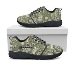 Floral Paisley Athletic Sneakers