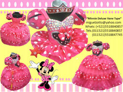 Toddler Baby Girl Minnie Mouse Dots Dress Tutu Skirt Party Costume Presentation