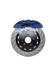 Jpm Forged Rs Brake 6pot Anodized Blue 15 Drill Disc For E90 E92 M3