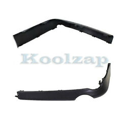 For 09-10 Corolla Rear Valance Air Dam Deflector Apron Panel Left Right Set Pair
