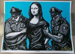 Arrested Special Ap Edition Screenprint Poster By Munk One 2013 S/nand039d Xx/25