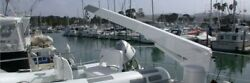 Steelhead White Retracting Yacht Crane SM1500