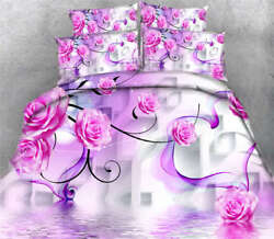 Rugosa Rose Story 3d Printing Duvet Quilt Doona Covers Pillow Case Bedding Sets