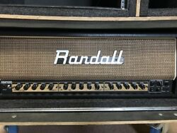 Randall Halfstack Randall Tube Head Rm100 Plus Cab, Power Conditioner, And Cases
