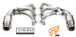 Ipe Exhaust System For Porsche 997 Gt3 Headers With Cat Bypass